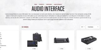 AUDIO INTERFACE MIDI INTERFACE