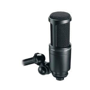 Audio-Technica AT2020 mikrofon mikrofoner tilbehør bedst til pris prisen