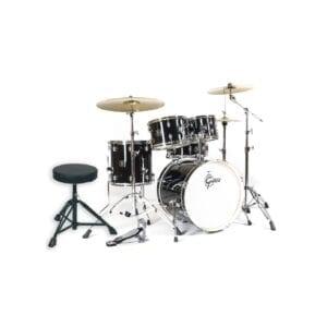 Gretsch Energy Studio Black Kmplet Trommesæt