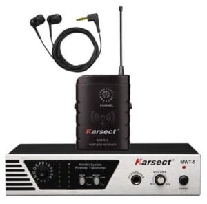 Karsect MWT5-MWR5 trådløs in-ear monitor in ear system systemer