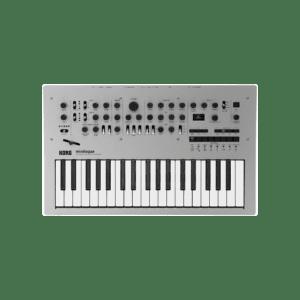 Korg Minilogue Syntheziser, digital synthesizer, analog synthesizer, novation summit, roland d-05, moog grandmother