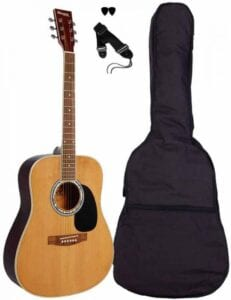 Sant Guitars AC-80-NA western-guitar natur western guitar begynder