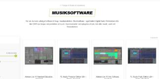 audiomidi sequenzer musik software ableton fl studie