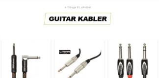 guitar kabler