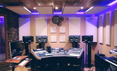 hjemme studio