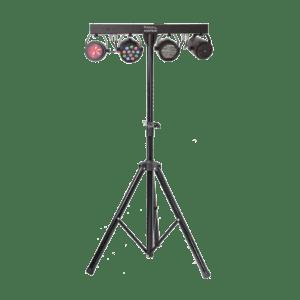 Ibiza LED Lysbar Moonflower + Laser og Strobe