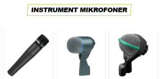 intrument mikrofoner
