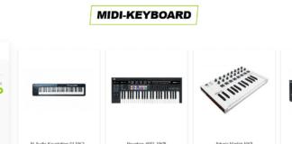 midi keyboard og midi controller
