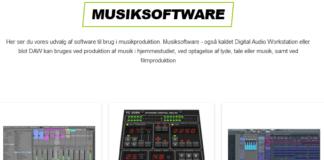 musik software og instrument plugin