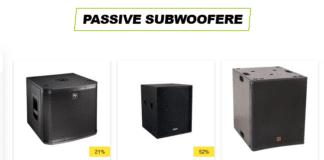 passiv subwoofer