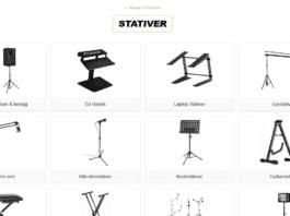 stativer og beslag til højttalere og lyd og lys generelt