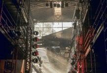 scene opsætning lys teaterspot