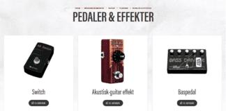 volume og kontrol pedaler