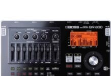 Boss BR-800 multitrack recorder