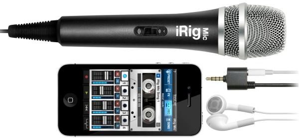 IK Multimedia iRig Mic mikrofon til smartphone/tablet