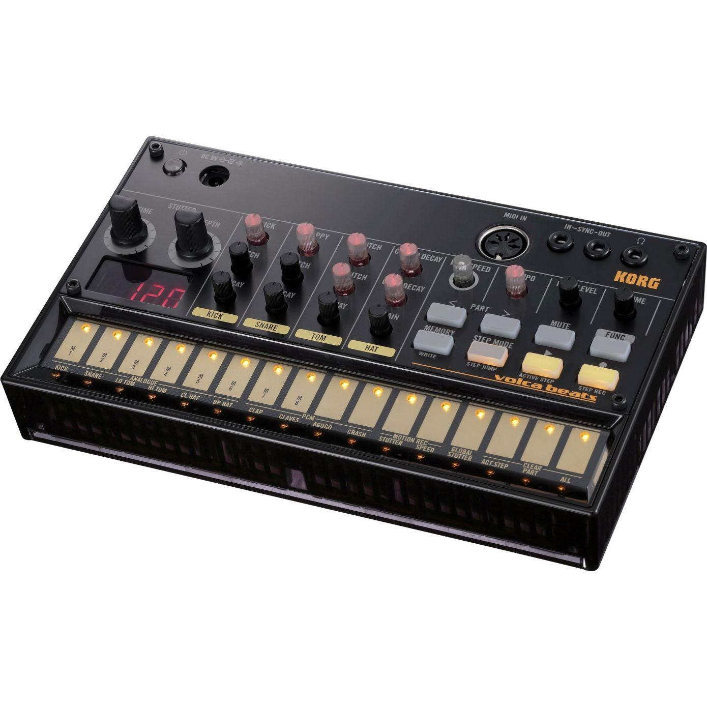 Korg Volca Beats - Analogue Rhythm Machine