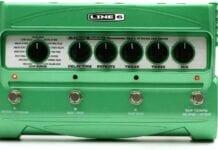 Line 6 DL4 guitar-effekt-pedal