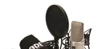 Røde NT2A-BOX mikrofonsæt med popfilter, ophæng og kabel