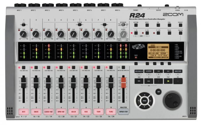 Zoom R24 harddisk-recorder / audio interface