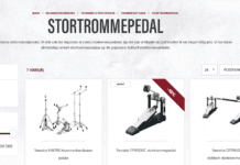 stortromme pedal