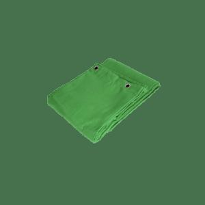 Green Screen Tæppe med øjer
