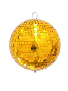 Spejlkugle guld