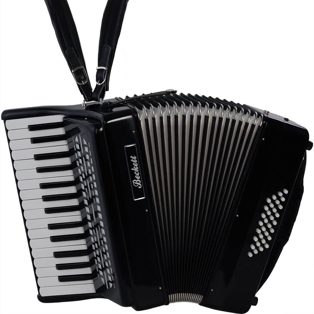Beckett JH2002 piano harmonika sort | 4SOUND.DK