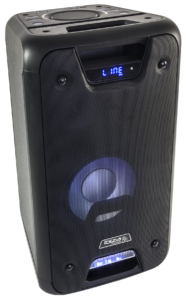 Ibiza stand alone transportabel lydsystem 300W 0