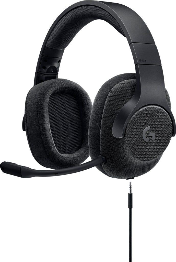 Logitech G433 7,1 Surround Gaming Headset bedste til prisen