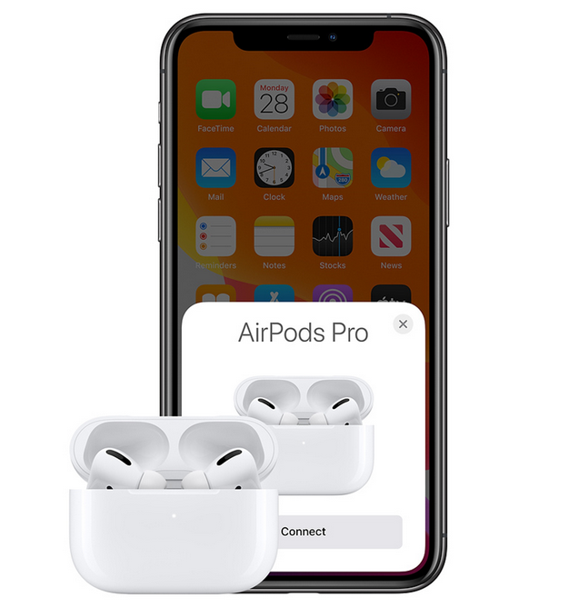airpods pro in ear højttaler