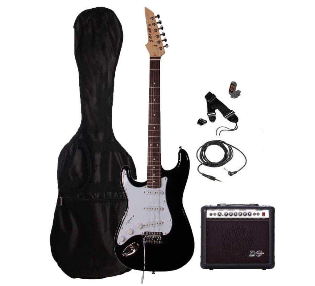 ch st01 bk lh pack2 guitar