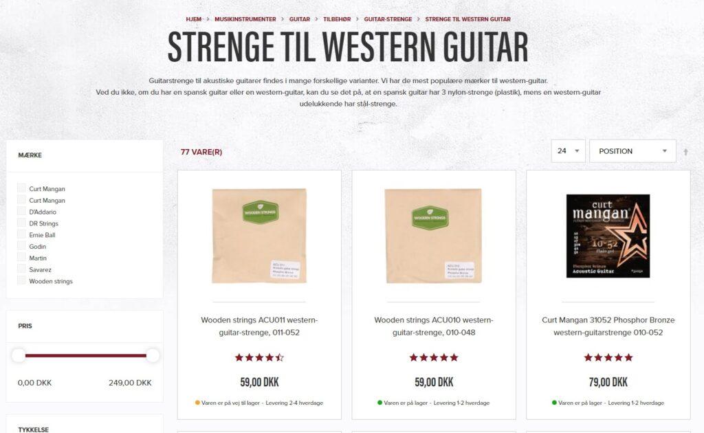 guitar strenge western guitar
