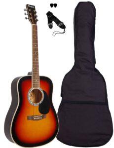 sunburst ac80 sant guitar western