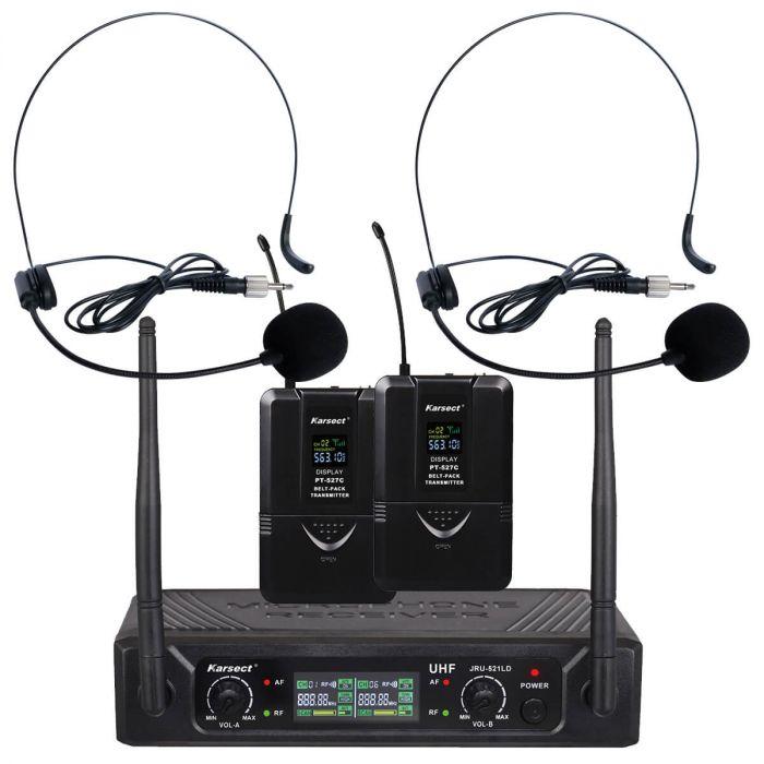 trådløs mikrofon karsect headset