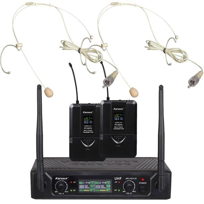 trådløs mikrofon karsect tynd