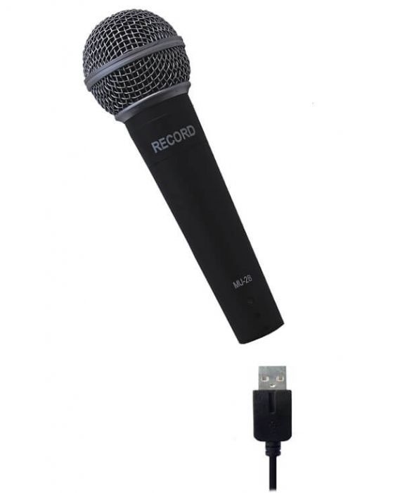 usb mikrofon record
