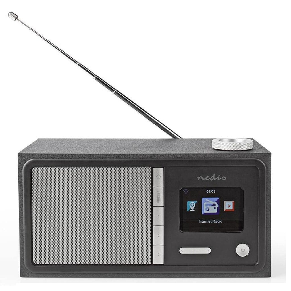 Nedis DAB og internet radio (lille model) forfra
