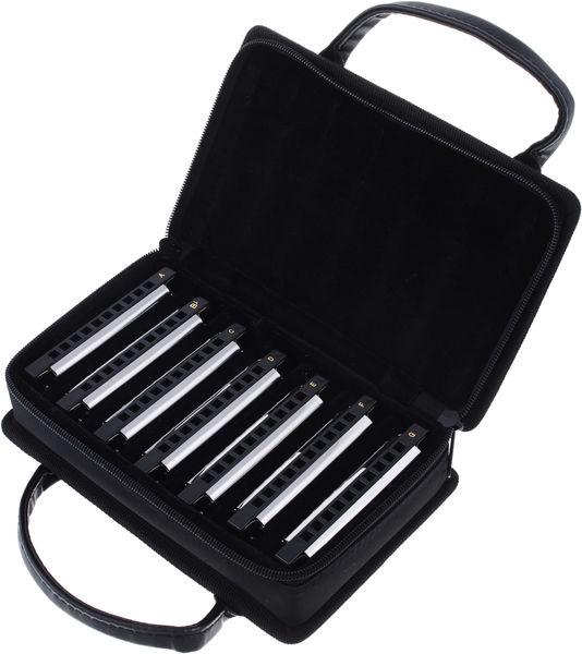 Fender Blues Deluxe 7 pack with case med taske