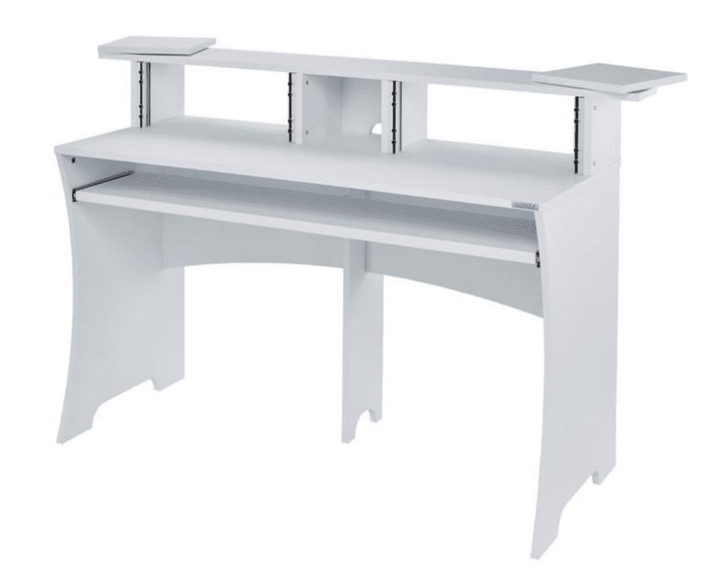 Glorious Workbench white i hvid set fra siden