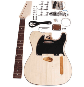 Den billige blev Beaton DIY-TL-12 el-guitar samle-selv-sæt