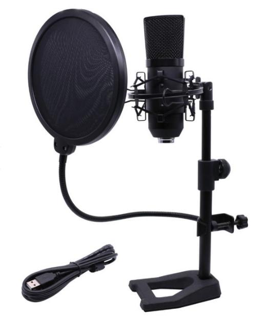 Record MU-46 SET USB-mikrofon-pakke bedste valg til begynderen