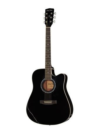 Harley Benton D-120CE BK starter guitar
