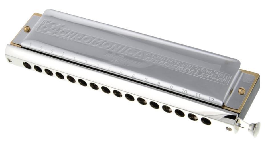 Hohner Chromonica IIIM280 C forfra