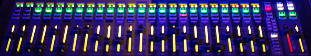 Digital og analog mixer