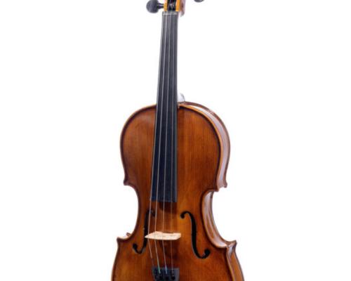Akustisk violin set forfra