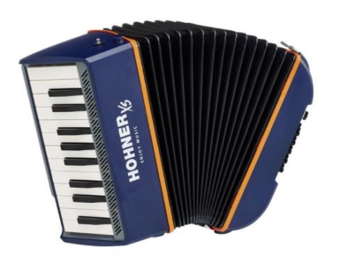 Klaverharmonika set ligepå