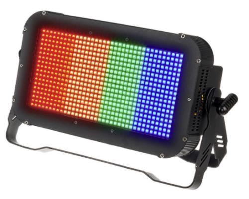Disko lys, der lyser med mange farver
