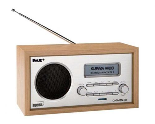 Produktbillede af Imperial Bærbar radio DigitalBOX DABMAN 30 - DAB/DAB+/FM