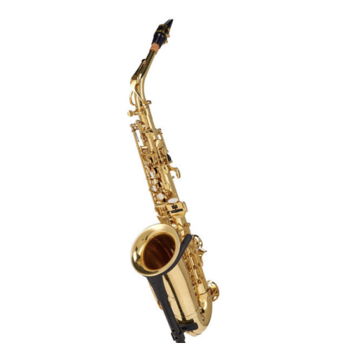 Startone SAS-75 Alto Sax på et saxofonstativ